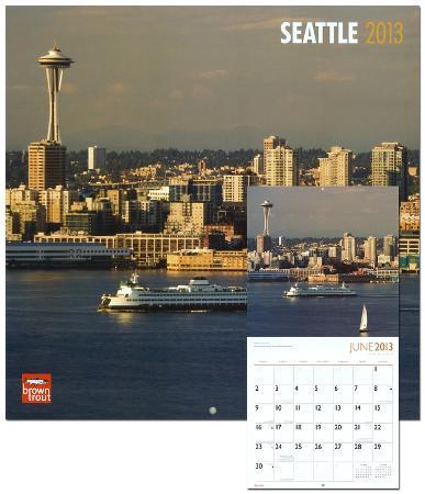 Seattle - 2013 Wall Calendar