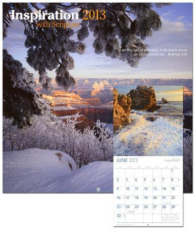 Inspiration with Scripture - 2013 Wall Calendar