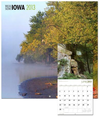 Iowa, Wild & Scenic - 2013 Wall Calendar
