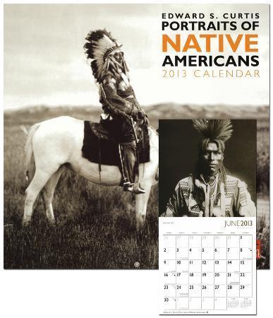 Curtis, Edward S: Portraits Of Native Americans - 2013 Wall Calendar