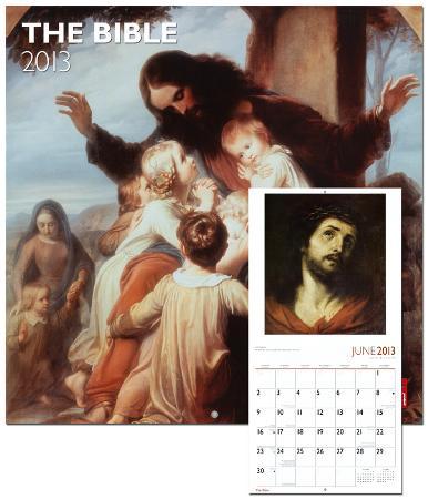 Bible, The - 2013 Wall Calendar