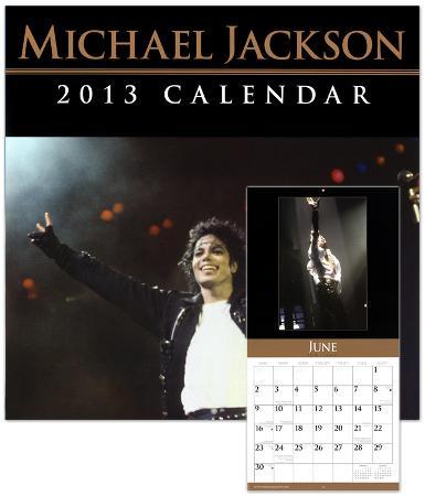 Michael Jackson - 2013 Wall Calendar