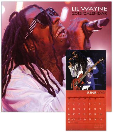 Lil Wayne - 2013 Wall Calendar