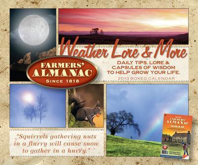 Farmers' Almanac - 2013 Boxed Calendar