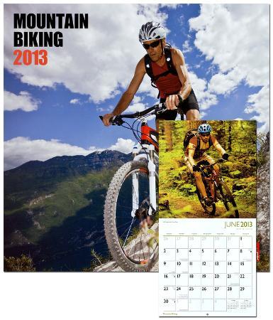 Mountain Biking - 2013 Wall Calendar