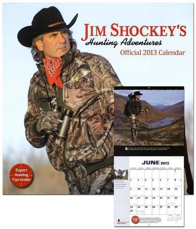Jim Shockey: Big Game Hunting - 2013 Wall Calendar