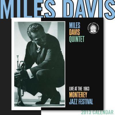 Miles Davis - 2013 Wall Calendar