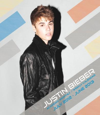 Justin Bieber - 2013 Hard Cover Academic Planner
