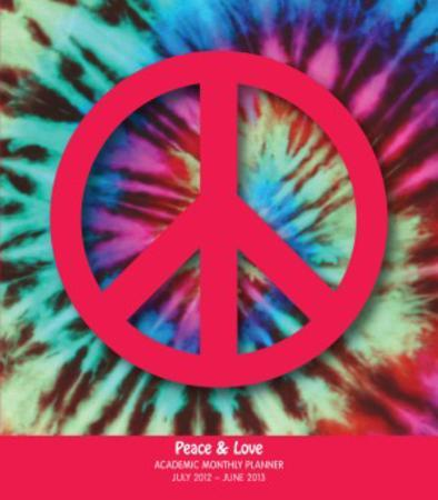 Peace & Love - 2013 Academic Soft Cover Personal Planner