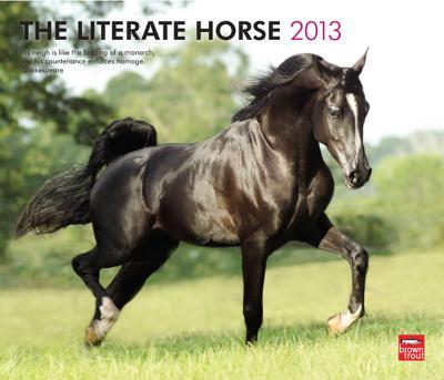 Literate Horse - 2013 Deluxe Wall Calendar