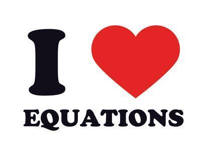 I Heart Equations
