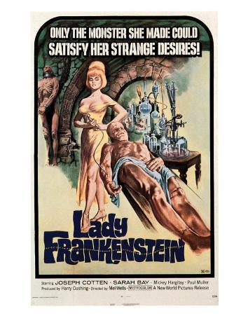 Lady Frankenstein - 1971