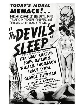 The Devil's Sleep - 1951
