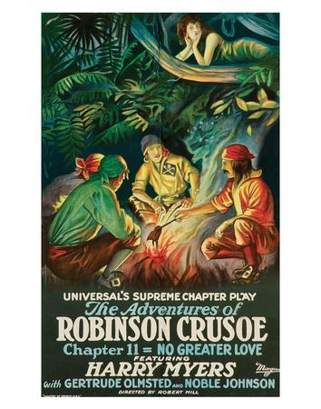 The Adventures Of Robinson Crusoe - 1922