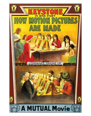 How Motion Pictures Are Made - 1914