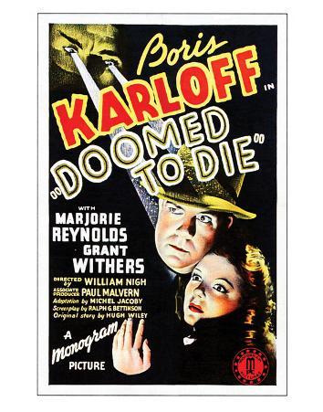 Doomed To Die - 1940