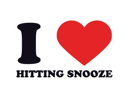 I Heart Hitting Snooze