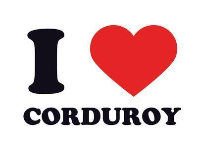 I Heart Corduroy
