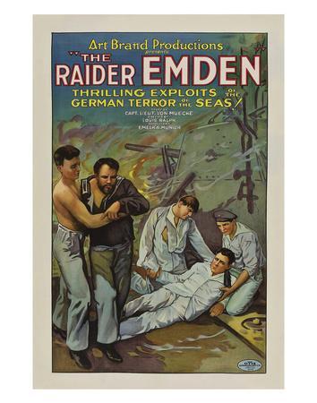 The Raider Emden - 1928