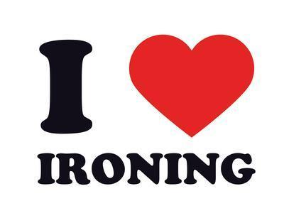 I Heart Ironing