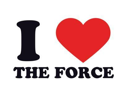 I Heart the Force