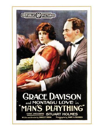 Man's Plaything - 1920