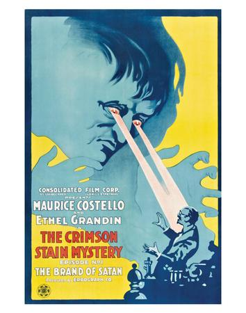 The Crimson Stain Mystery - 1916 I