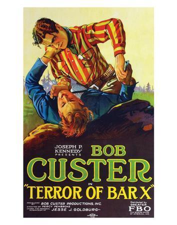 Terror Of Bar X - 1927