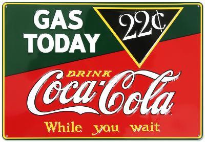 Drink Coca Cola Coke Gas Today 22 Cents