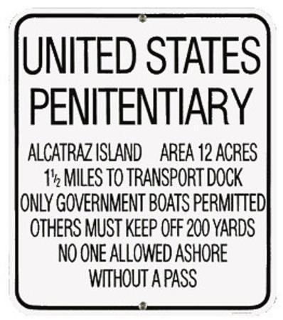 U S Penitentiary Alcatraz Prison