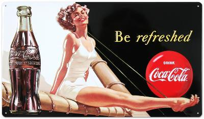 Drink Coca Cola Coke Be Refreshed Beauty
