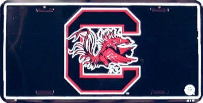 University of South Carolina License Plate