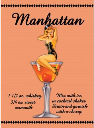 Manhattan Drink Recipe Sexy Girl
