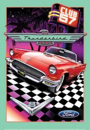 Ford Thunderbird Club 57 Car