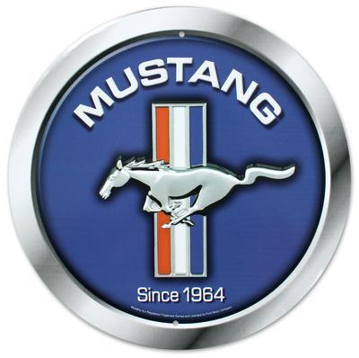 Ford Mustang Logo Since 1964 Round