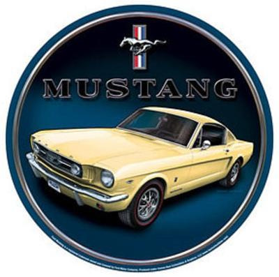 Ford Mustang Car Round