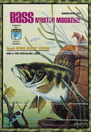 Bass Master Fish In Barrel