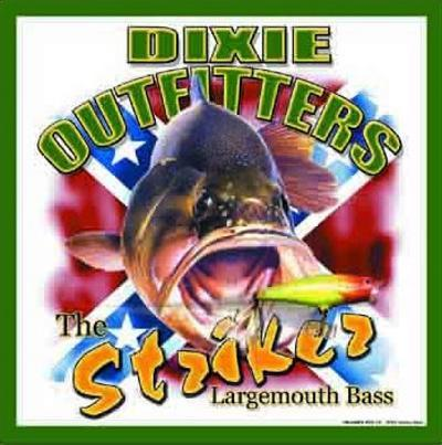 Dixie Outfitters Fishing Striker Largemouth Bass