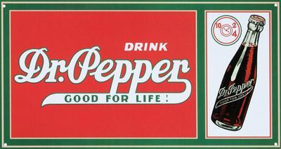 Drink Dr. Pepper Soda Good For Life