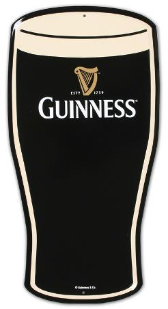 Guinness Stout Pint Beer Metal