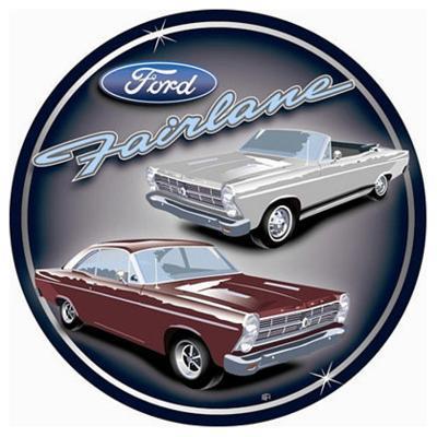 Ford Fairlane Cars Round