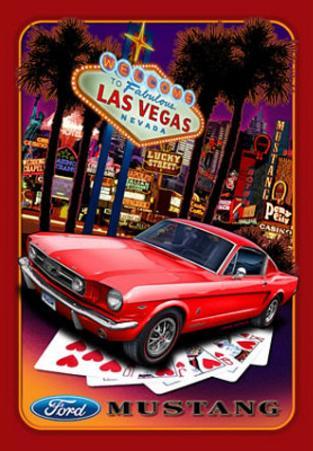 Ford Mustand Las Vegas Car