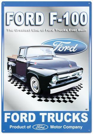 Ford Motor Company F-100 Pickups Trucks