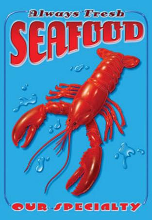 Always Fresh Seafood Lobster