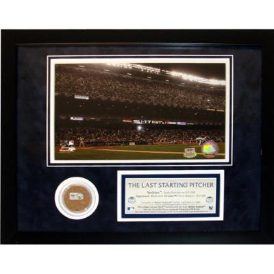 Andy Pettitte 'The Last Starting Pitcher' Mini Dirt Collage