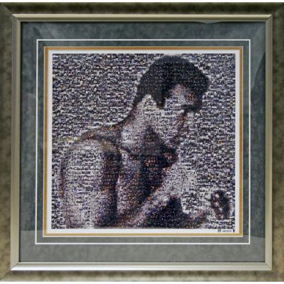 Muhammad Ali Mosaic Collage (Ltd of 100)