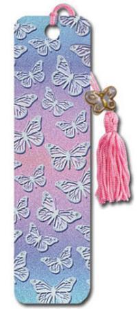 Butterflies Beaded Bookmark