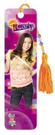 iCarly Pink TV Beaded Bookmark