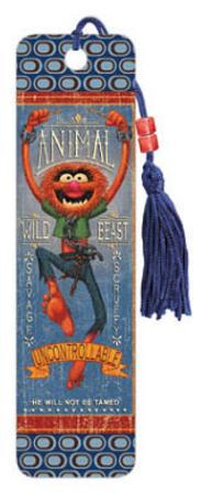 The Muppets Animal Beaded Bookmark