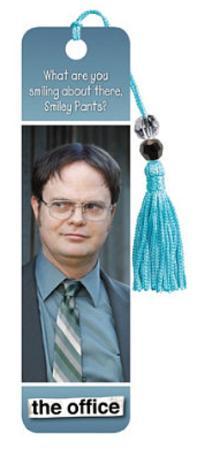 The Office Dwight Schrute Rainn Wilson TV Beaded Bookmark
